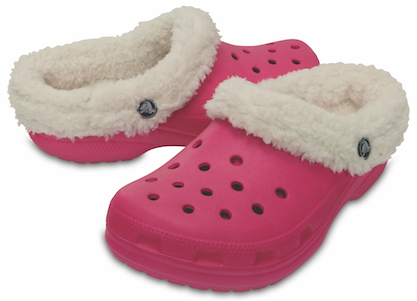 Warm and Cozy, Lined Crocs Clogs for